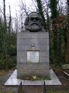 Grób Karola Marksa w Londynie