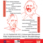 "Konferencja ""Hegel and Marx on the Global Crisis"""